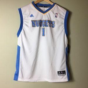 NWT - NEW Adidas NBA Nuggets #1 Billups Jersey